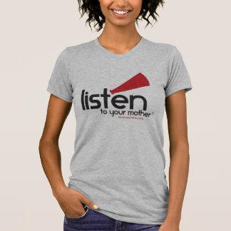Camisa de los grises brezos LTYM de las mujeres
