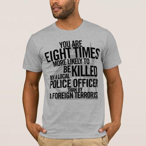 Camisa de los hechos del terrorismo