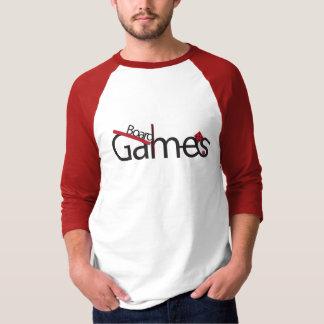 Camisa de los juegos de mesa