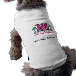 Camisa de los mejores amigos ropa perro