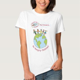 """Camisa de los """"ningunos niños hambrientos"""" de"""