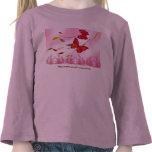 camisa de los niños de la mariposa 5