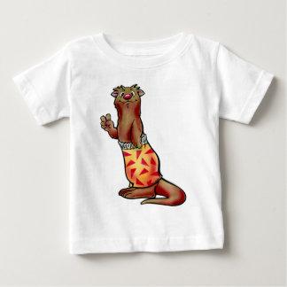 Camisa de los niños de la nutria de la resaca de