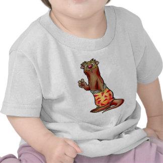 Camisa de los niños de la nutria de la resaca de A