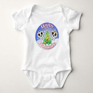 Camisa de los niños de los cráneos del azúcar del