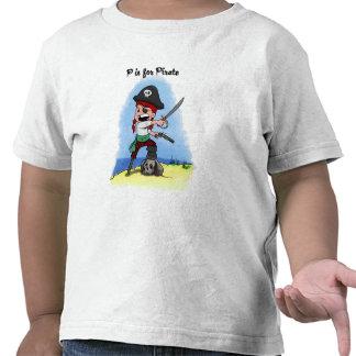 Camisa de los niños de Lucy del pirata