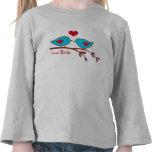 Camisa de los pájaros del amor
