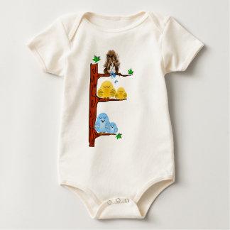 Camisa de los pájaros el dormir