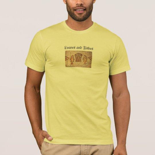 Camisa de los PANES y de los PESCADOS de ISRAEL