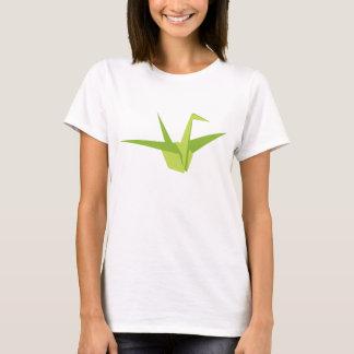 Camisa de los pares de la grúa de Origami (la