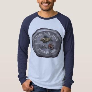Camisa de los pescados de la matanza de las