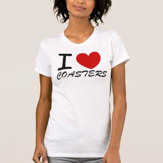 Camisa de los prácticos de costa del corazón de