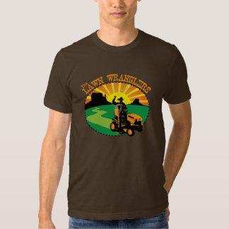Camisa de los Wranglers del césped