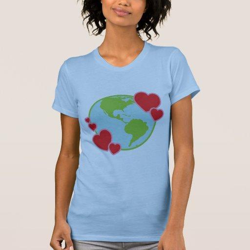 Camisa de Lovin de la tierra
