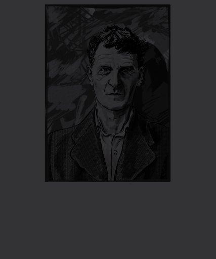 Camisa de Ludwig Wittgenstein + Cita