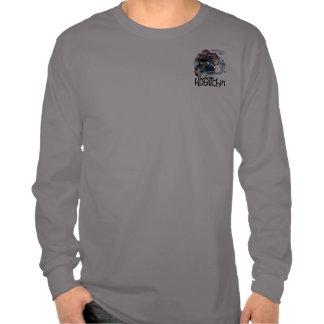 Camisa de manga larga básica del logotipo de HDBit