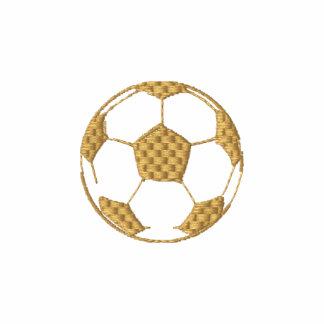 Camisa de manga larga bordada del fútbol 2010 de