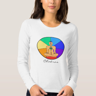 Camisa de manga larga de Chakras