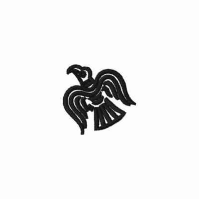 Camisa de manga larga de la bandera del cuervo de