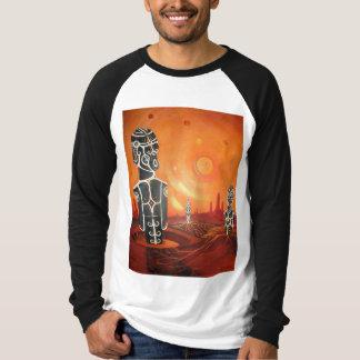 Camisa de manga larga de Moai Homeworld
