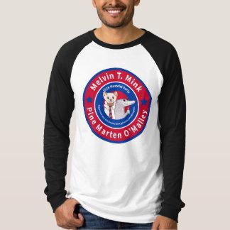 Camisa de manga larga del béisbol de los hombres