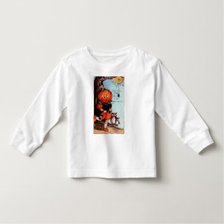Camisa de manga larga del niño de Halloween del