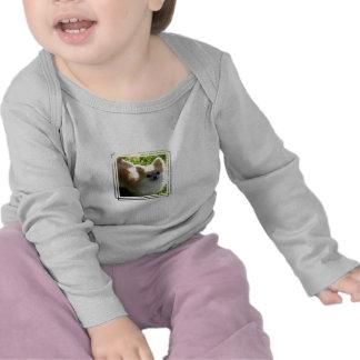 Camisa de manga larga del niño de los perritos de