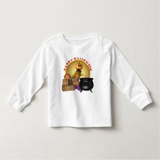 Camisa de manga larga del niño del feliz Halloween