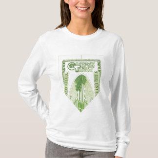 Camisa de manga larga doblada de $20 señoras