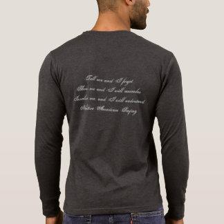 Camisa de manga larga negra principal del Swag