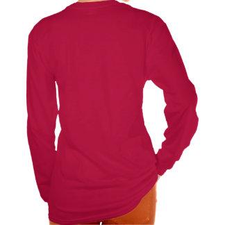 Camisa de manga larga oscura trasera de Yin Yang