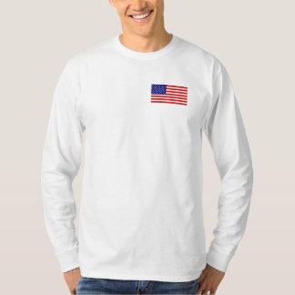 Camisa de manga larga para hombre de la bandera