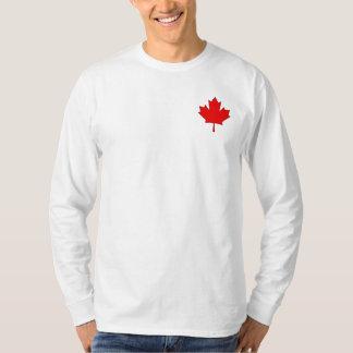 Camisa de manga larga para hombre de la hoja de