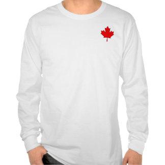 Camisa de manga larga para hombre de la hoja de ar