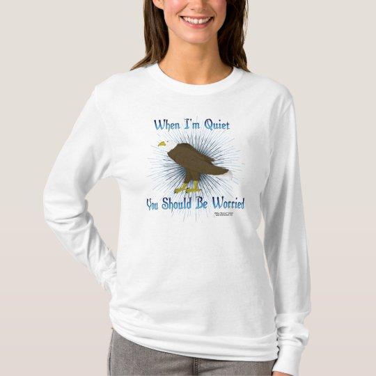 Camisa de manga larga reservada de las señoras de