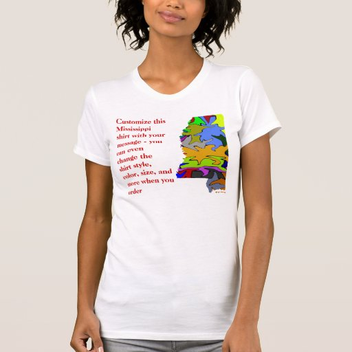 Camisa de Mississippi - personalizado con la