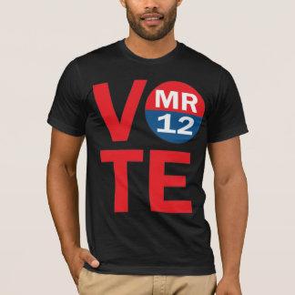 Camisa de Mitt Romney 12 American Apparel del voto