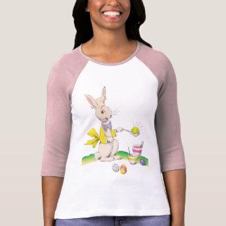 Camisa de muerte de los huevos del conejito de