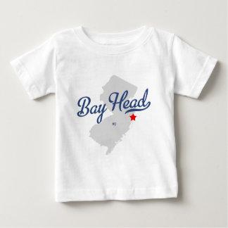 Camisa de New Jersey NJ de la cabeza de bahía