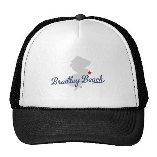 Camisa de New Jersey NJ de la playa de Bradley Gorro De Camionero