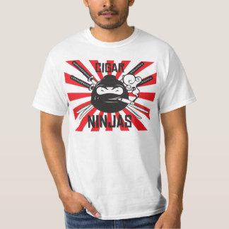 Camisa de Ninja del cigarro