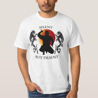 Camisa de Ninja silenciosa pero muerto