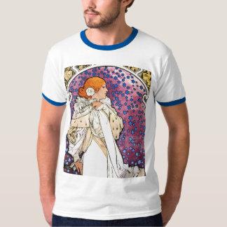 Camisa de Nouveau del arte del vintage por Mucha