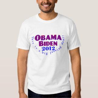 Camisa de Obama Biden 2012 BFD