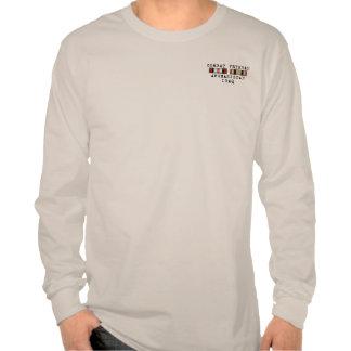 Camisa de OEF OIF con el frente de la cinta