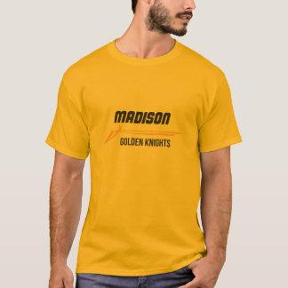 Camisa de oro de los caballeros de Madison