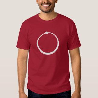 Camisa de Ouroborus de los logotipos - oscuridad