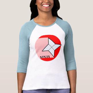 Camisa de papel de la estrella de Ninja