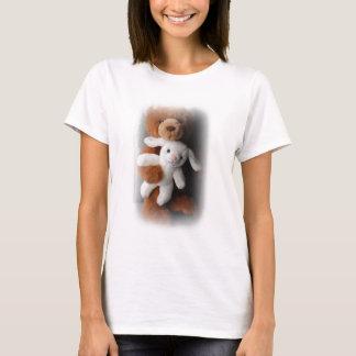 Camisa de Pascua del conejo y del oso