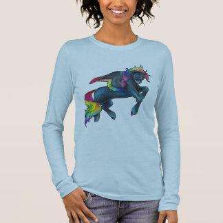 Camisa de Pegaso del arco iris